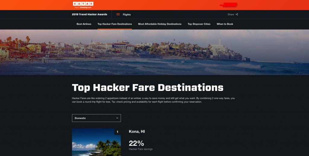 KAYAK flights hackers fare
